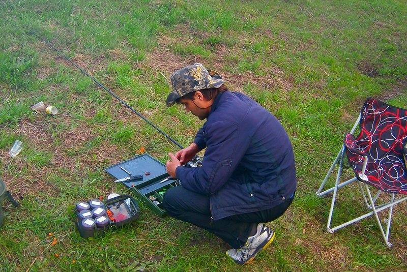 карповая рыбалка ранней весной видео
